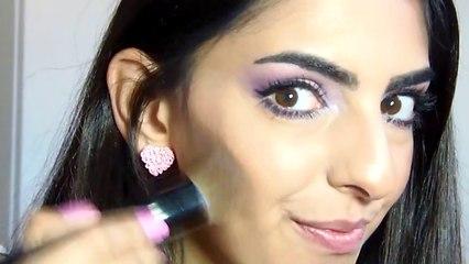 simple spring makeup tutorial ,ماكياج ربيعي سهل جداً