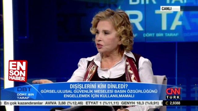 Nagehan Alçı ve Kadri Gürsel kavga etti