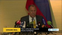 Russian FM: Ukraine, US, EU agree on de-escalating tensions