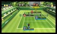 Wii Sport - Tennis Kev vs CPU