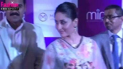 Deepika Padukone COPIES Kareena Kapoor & Sridevi's GOLD saree look
