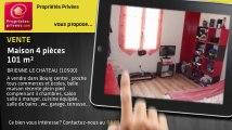 A vendre - maison - BRIENNE LE CHATEAU (10500) - 4 pièces - 101m²