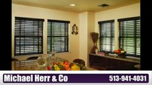 Cincinnati Custom blinds and shutters