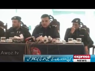 CCPO Lahore claims busting gang of 6 involved in sectarian killings, involved in attacks on Ulemas - 18th April 2014