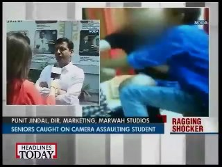 Student brutally Raged in NOIDA
