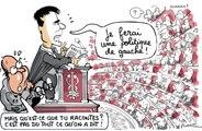 Le Plantu du mois : amours et désamours de Valls et Hollande