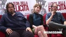 Intervista a Valerio Mastandrea, Isabella Ragonese e Giuseppe Battiston per La sedia della felicità