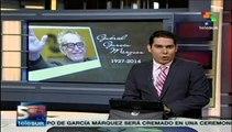 Gabo será homenajeado en el Palacio de Bellas Artes de México