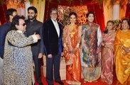 Bappa lahiri marriage party With Bollywood Celebs Salman Khan Kajol Shraddha Kapoor Javed Jafri Lata Mangeshkar Amitabh Bachchan Rani Mukharjee Shaan
