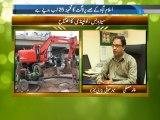 Roshan Pakistan Metro Bus project by Taimur Shamil PTV News 05 April 2014
