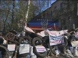 Ukraine: les insurgés pro-russes refusent toujours de quitter les bâtiments occupés à Donetsk - 18/04