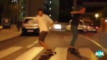 Les plus gros et plus drôle FAILS et gamelles en Skateboard - Compilation sport!