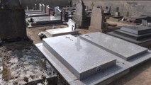 Tombe de Raymond Bussières à Marchenoir (41) - Mars 2014