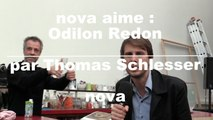 Nova Aime : Exposition d'Odilon Redon par Thomas Schlesser