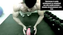 Pectoraux musculation - les pompes au top. Télécharger le guide complet pour toutes les parties du corp.