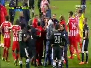 pagritianews.gr :ΠΑΟΚ vs ΟΛΥΜΠΙΑΚΟΣ 16-04-2014 επεισοδιο Μανιάτη με Κατσουράνη