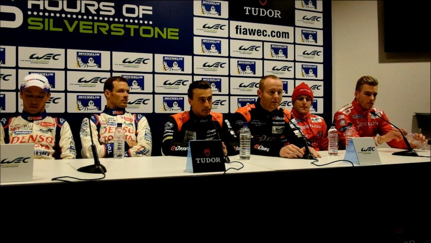 Qualifying Press Conference - LMP
