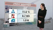 Bad weather continues in Jindo for the resuce efforts