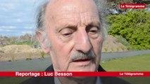 Plouhinec (29). Jacques Bretagne, champion  de France d'haltérophilie à 86 ans