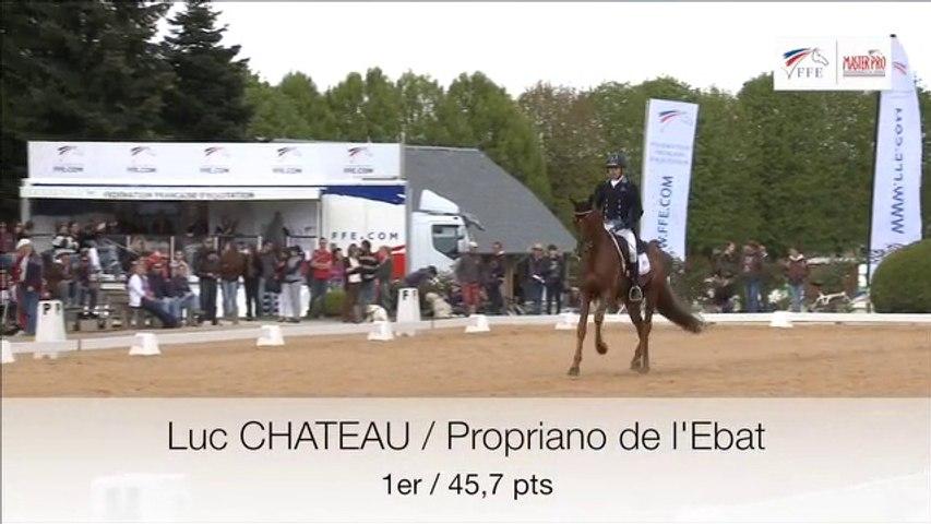 Master Pro CCE Pompadour - La reprise de Luc CHATEAU et Propriano