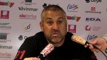 Rugby Top 14 - Christophe Urios réagit après Oyonnax - Toulouse (2e partie)