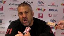 Rugby Top 14 - Christophe Urios réagit après Oyonnax - Toulouse (3e partie)