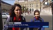 Los cuatro periodistas galos liberados a Francia el domingo