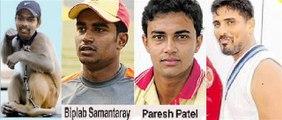 orissa ranji cricketer-biplab-samantray-basant-mohanty-paresh-patel-and- natraj behera-ubnsold -7-ipl-auction-2014-from orissa ranji 4 probable uncapped cricket -player (4)