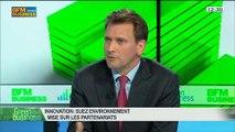 L'innovation chez Suez Environnement: Jean-François Caillard et Pierre Nougué, dans Green Business – 20/04 3/4
