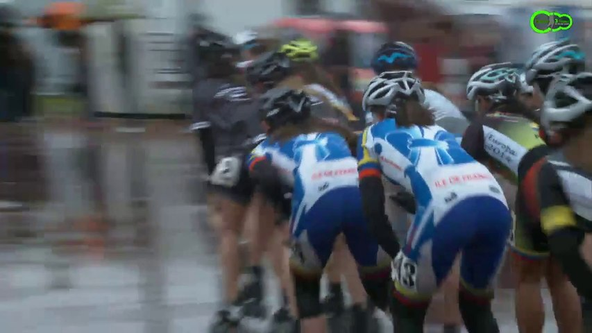 3 Pistes 2014 - Finale Elimination - Cadettes - Valence d'Agen