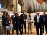 Vernissage - Liv ar bro a Pondi, 5 ème Salon des Arts de Centre Bretagne a Pontivy, parrainé par Gilles Servat, la-fontaine.tv