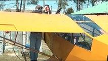 Vol à bord d'un avion PIPER (l'ombre du Piper)
