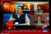 Part-1 GEO Capital talk special show attack on Hamid Mir with MQM Haider Abbas Rizvi (20 April 2014)