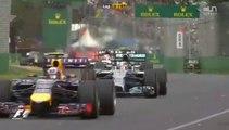 Départ du Grand prix d'Australie 2014 de Formule 1