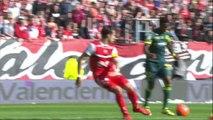 But Serge GAKPE (44ème) - Valenciennes FC - FC Nantes - (2-6) - 20/04/14 - (VAFC-FCN)