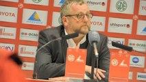 Football : La réaction de Jean-Raymond Legrand, président du VAFC, après Valenciennes -  Nantes