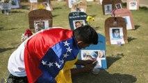 Venezuelan Protesters Hold Easter Rally, Plan To Burn Maduro Effigies
