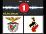 Benfica 2 - 0 Olhanense | Relato dos golos por Nuno Matos (Antena 1) Campeão Nacional 20-04-2014
