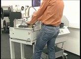 Komax Kappa 320 Kabelabisoliermaschine Wire stripping machine from Unitek on Vimeo