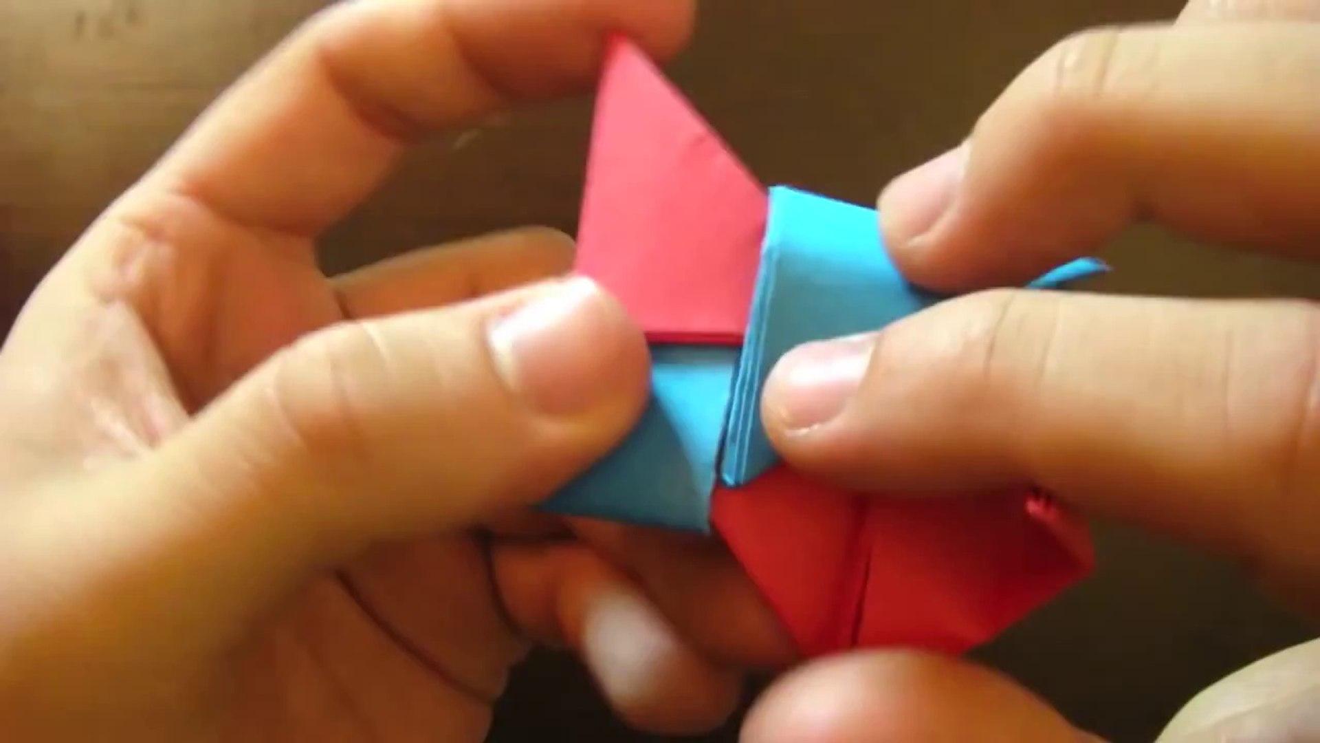 How to Fold an origami shuriken (ninja star) « Origami :: WonderHowTo | 1080x1920