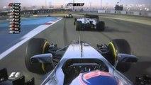 Départ du Grand prix de Bahrein 2014 de Formule 1