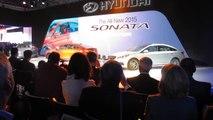 Hyundai Sonata Reveal at the 2014 NYC Auto Show NewCarNews.TV Bob Giles