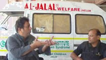 Jalal Dar Chairman Al Jalal Welfare Trust Jehlum talking with jeevey Pakistan about his institute for Down Syndrome Children. (Part 4)