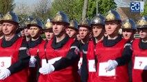 Les pompiers nordistes préparent leur 14 juillet