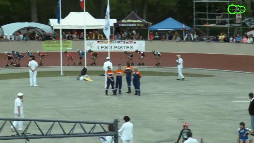 3 Pistes 2014 - Gujan  Finale 5000m à points - Juniors A Filles -