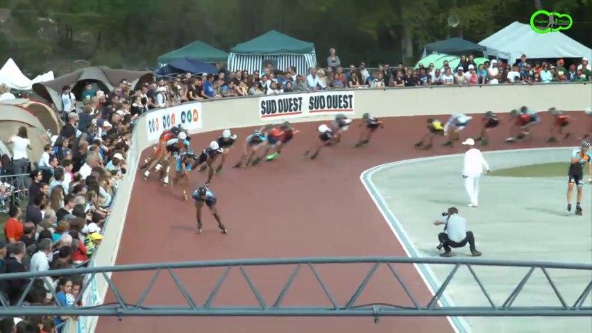 3 Pistes 2014/1  -Gujan  Finale 10 000m à points - Séniors Hommes -