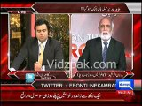GEO News Anchor Kamran Khan refused to be part of recent GEO campaign against ISI - Haroon Rasheed
