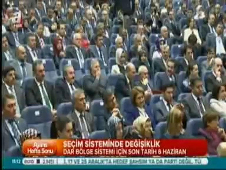 Basbakan Erdogan Yeni Secim Sistemi Olan Dar Bolge Sistemini Uygulamaya Sokacaklarini Acikladi