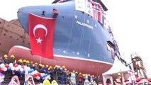 Cemre Shipyard NB120 Polarsyssel Launching + Timelapse 01 March 2014 - YouTube