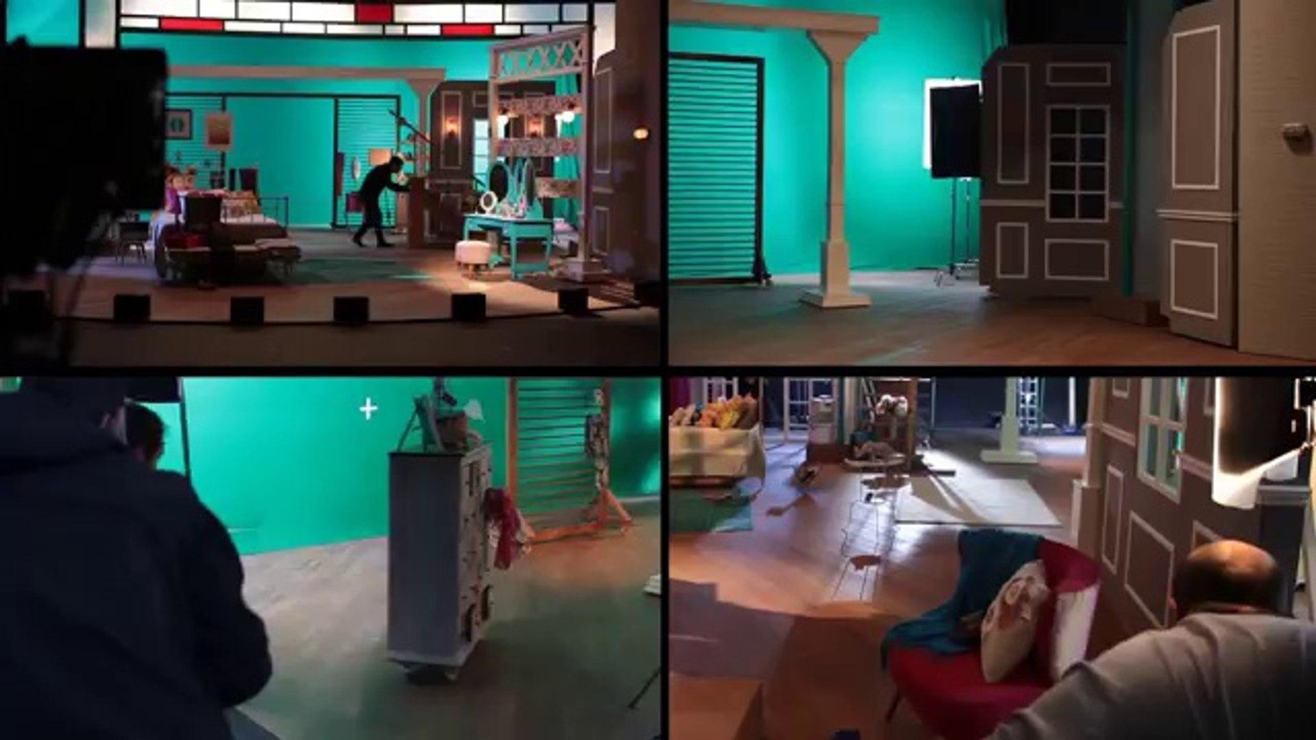 Serenay Sarıkaya Elidor reklam çekimi kamera arkası